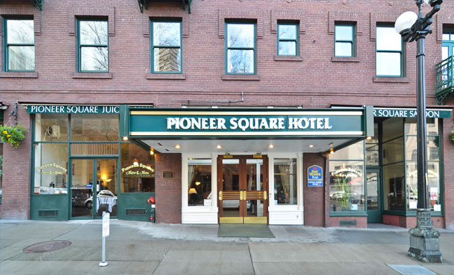Contact Us | Seattle Hotels - Best Western Plus Pioneer Square